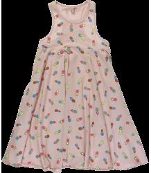 Stella McCartney Kids Zig Dress PINEAPPLE Stella McCartney Kids Zig Dress PINEAPPLE