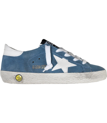 Superstar SUEDE Golden Goose Superstar SUEDE light blue