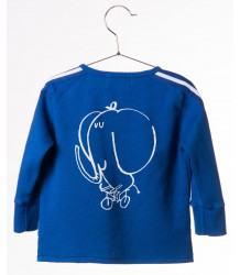 Bobo Choses Baby Zip Sweatshirt THE CYCLIST Bobo Choses Baby Zip Sweatshirt THE CYCLIST