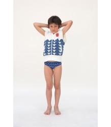 Bobo Choses Sleeveless Zip Sweatshirt ROWING Bobo Choses Sleeveless Zip Sweatshirt ROWING