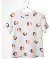 Bobo Choses V-neck t-shirt BASKET BALL Bobo Choses V-neck t-shirt BASKET BALL