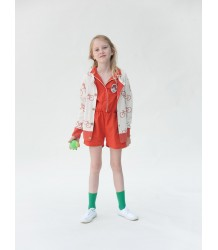 Bobo Choses Knit Cardigan THE CYCLIST AOP Bobo Choses Knit Cardigan THE CYCLIST AO