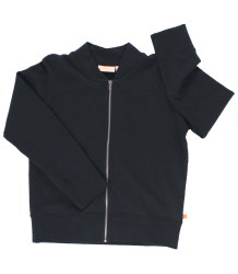 Tiny Cottons Holes Bomber Cardigan Tiny Cottons Holes Bomber Jacket navy