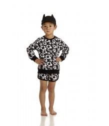 Filemon Kid Shorts PAW AOP Filemon Kid Shorts PAW AOP