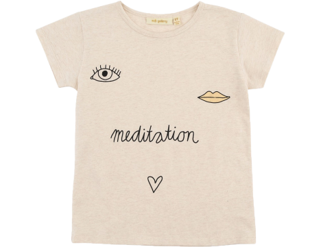 Soft Gallery Pilou Tee MEDITATION