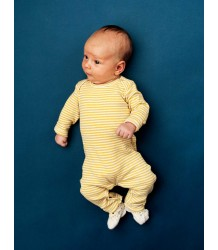 Kidscase Scott Organic NB Suit Kidscase Scott Organic NB Suit yellow stripe
