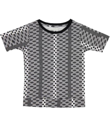 Kidscase Blake ALF Organic T-shirt Kidscase Blake Alf Organic T-shirt black and white
