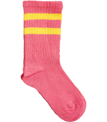 Mini Rodini Stripe Sock Mini Rodini Stripe Sock cerise