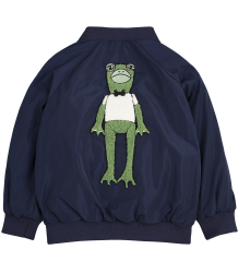 Mini Rodini FROG Baseball Jacket Mini Rodini FROG Baseball Jacket navy blue
