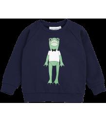 Mini Rodini FROG Sweatshirt Mini Rodini FROG Sweatshirt navy