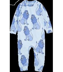 Mini Rodini LION LL Body Mini Rodini LION LL Body blue