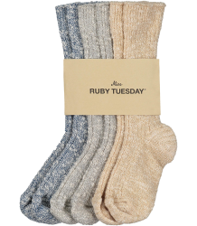 Ruby Tuesday Kids Welsch GLITTER Socks - Pack of 3 Ruby Tuesday Kids Welsch Socks - Pack of 3 GLITTER