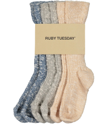 Ruby Tuesday Kids Wico Socks - Pack of 3 Ruby Tuesday Kids Wco Socks - Pack of 3