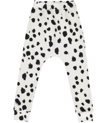 Popupshop Baggy Leggings WHITE LEO Popupshop Baggy Leggings WHITE LEO