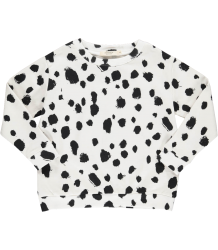 Popupshop Loose Sweat WHITE LEO Popupshop Loose Sweat WHITE LEO