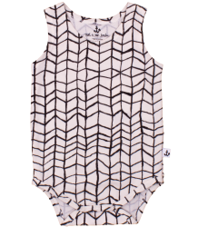 Noé & Zoë Tank Body BLACK WAVE GRID No? & Zo? Tank Body BLACK WAVE GRID