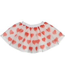 Caroline Bosmans Planet Smile Furbo Mesh Mini Skirt HEART Caroline Bosmans Planet Smile Furbo Mesh Mini Skirt HEART