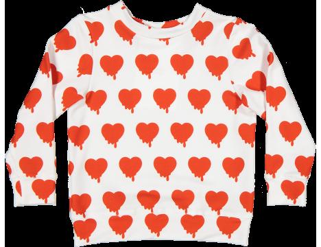 Caroline Bosmans Hope Sweater Fleece HEART