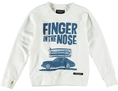 Finger in the Nose Hank Sweater MALIBU