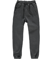 Finger in the Nose Longbeach Woven Denim Jogg Pants Finger in the Nose Longbeach Woven Denim Jogg Pants washed black