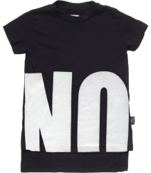 Nununu NO! T-shirt Double Length Nununu NO! T-shirt Double Length BLACK