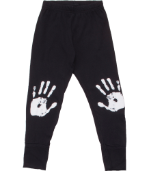 Nununu Leggings Knee Print HANDS Nununu Leggings Knee Print HANDS BLACK
