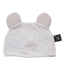 Nununu Mouse Hat Nununu Mouse Hat white