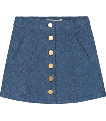 Terry Skirt Ruby Tuesday Kids Terry Skirt denim