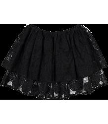 Caroline Bosmans Planet Smile FLORAL ORGANZA Skirt Caroline Bosmans Planet Smile FLORAL ORGANZA Skirt black