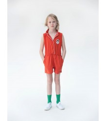 Bobo Choses Tailor Neck Romper Piping Bobo Choses Tailor Neck Romper Piping