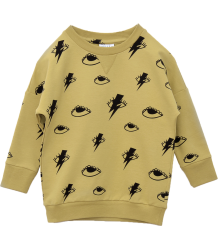 Little Man Happy BOWIE EYES Loose Sweater Little Man Happy BOWIE EYES Loose Sweater