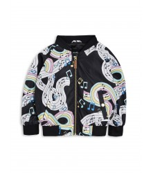 Mini Rodini MELODY Baseball Jacket Mini Rodini MELODY Baseball Jacket