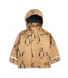 Mini Rodini Edelweiss Rain Jacket Mini Rodini Edelweiss AOP Jacket