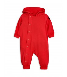 Mini Rodini New Born Onesie Mini Rodini New Born Onesie rood
