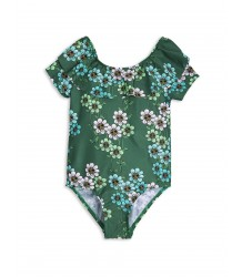 Mini Rodini Short Sleeve Swimsuit DAISY Mini Rodini Short Sleeve Swimsuit DAISY