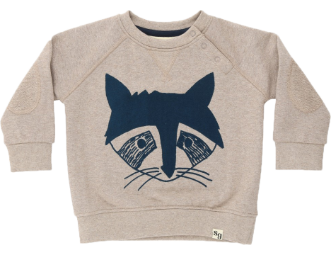 Soft Gallery Alexi Baby Sweat BADGER