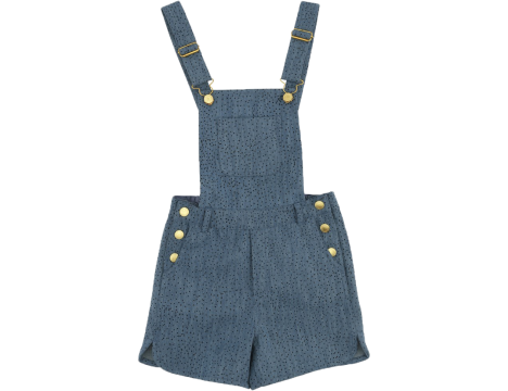 Soft Gallery Lux Salopet Shorts Denim MINIDOTS
