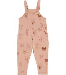 Soft Gallery Willow Sweat Dungarees ANIMALS Soft Gallery Willow Sweat Dungarees ANIMALS