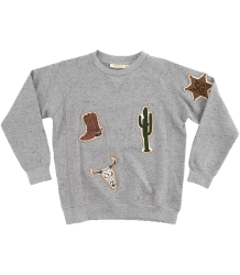 Soft Gallery Kipp Sweatshirt COWBOY patches Soft Gallery Kipp Sweatshirt COWBOY patches