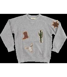 Soft Gallery Kipp Sweatshirt COWBOY patches Soft Gallery Kipp Sweatshirt COWBOY patches