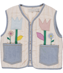 Stella McCartney Kids Twister Gilet FLOWERS Stella McCartney Kids Twister Gilet FLOWERS