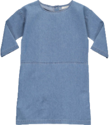 Popupshop Juli Dress DENIM Popupshop Juli Dress DENIM