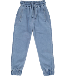 Popupshop Denim Sweatpants Chambray Popupshop Denim Sweatpants Chambray