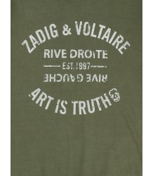 Zadig & Voltaire Kids Short sleeve Tee ART Zadig & Voltaire Kid Short sleeve Tee KIDS