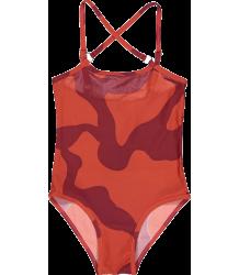 Kidscase Beach Suit Kidscase Fish Suit red