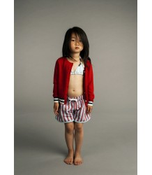 Kidscase Sand Hotpants Kidscase Sand Hotpants red and blue stripes