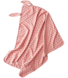 Oeuf NYC Bunny Swaddle STRAWBERRIES Oeuf NYC Swaddle BUNNY strawberry