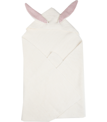 Oeuf NYC Bunny Ears Blanket Oeuf NYC Bunny Ears Blanket white