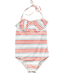 Oeuf NYC Halter Bathing Suit STRIPES Oeuf NYC Halter Bathing Suit STRIPES
