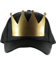 Yporqué Leather Cap CROWN Yporque Leather Cap CROWN